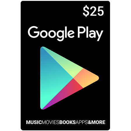CARTE CADEAU PLAY STORE DOLLARS